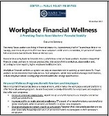 Financial Wellness Report